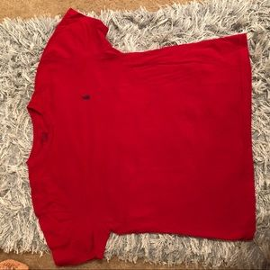 Polo red men's t-shirt! Super cute for girls too!